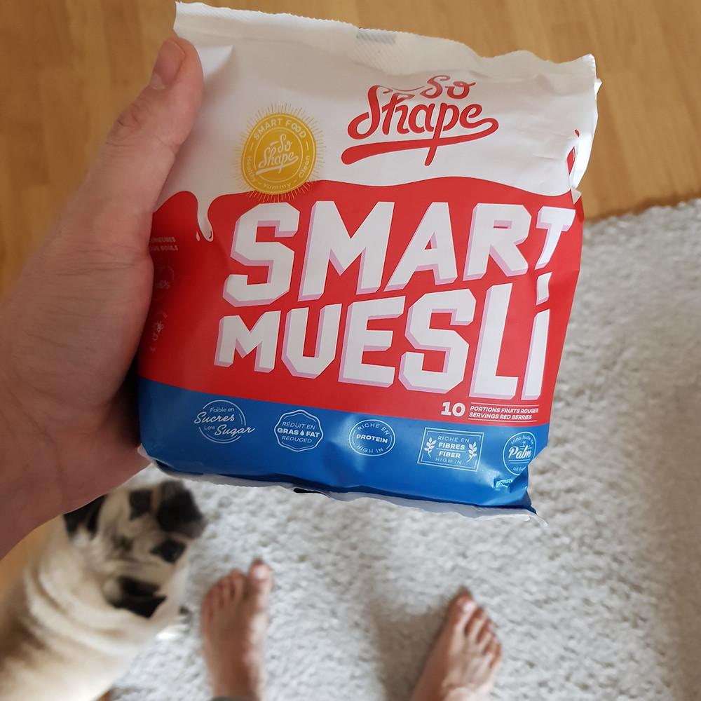 Smart Muesli aux fruits rouges de So Shape