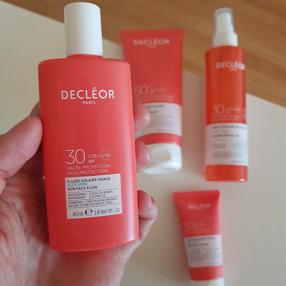 soins solaires Decléor