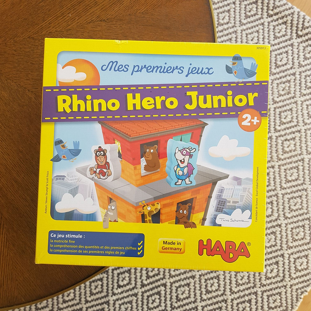 Rhino Hero Junior de Haba