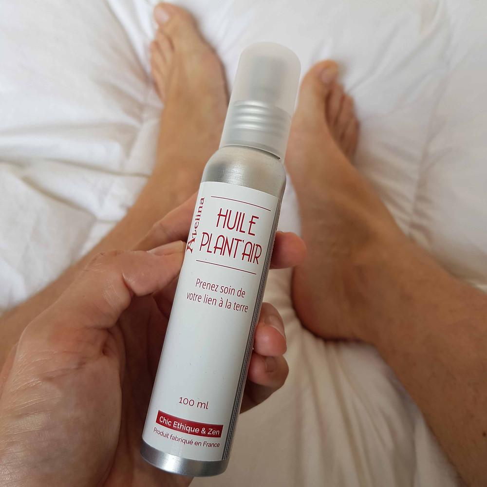 huile pieds secs