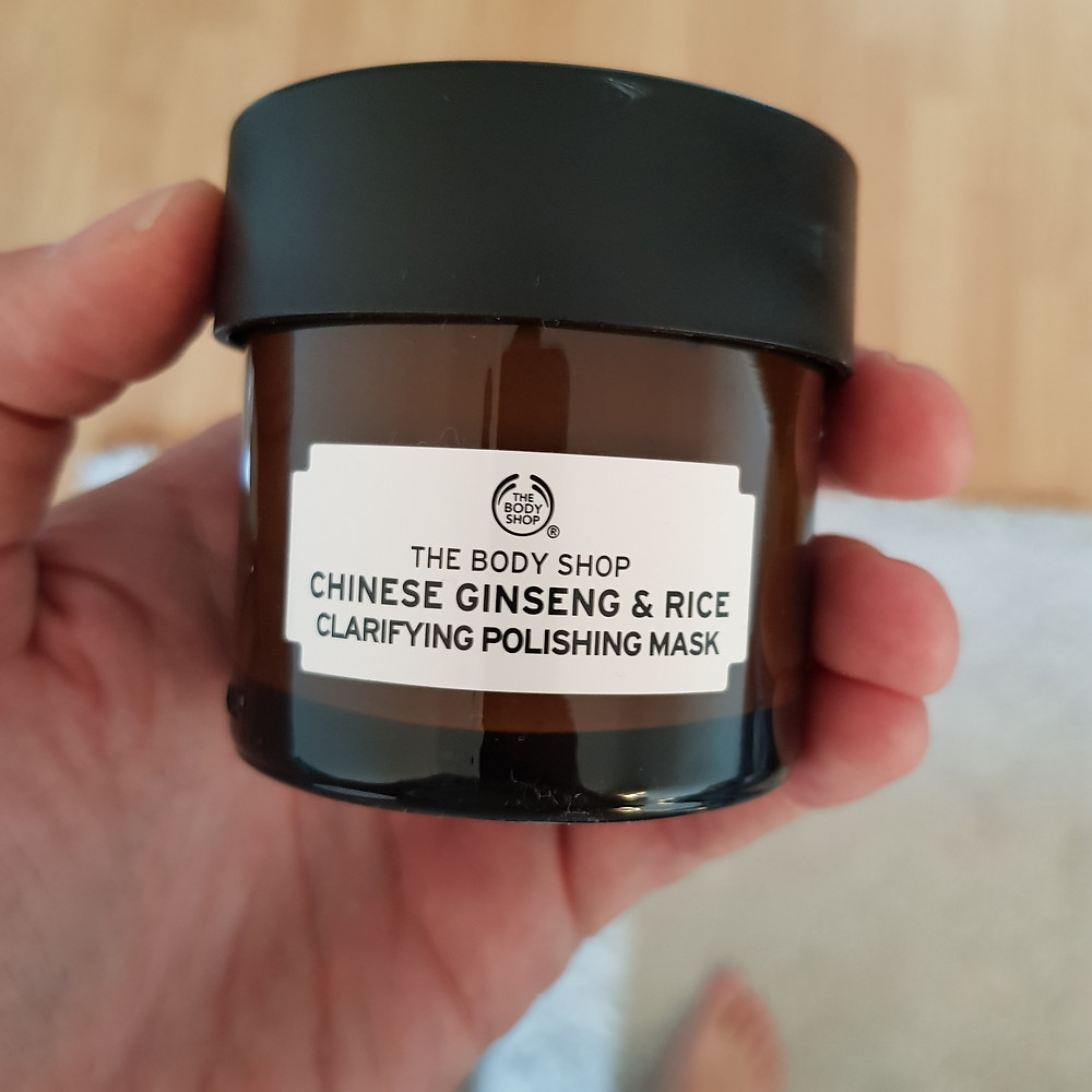Masque Chinese Ginseng & Rice The Body Shop