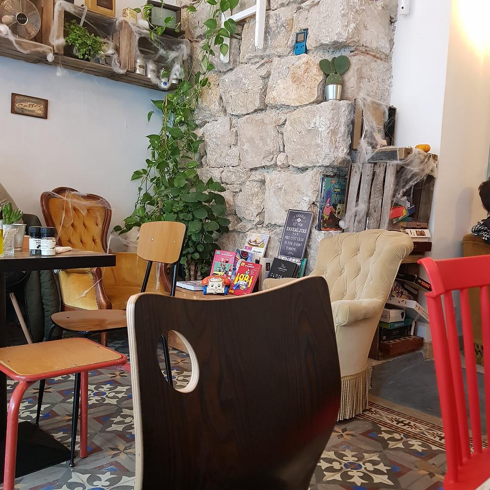 Coffee-shop Chez les Garçons à Nice