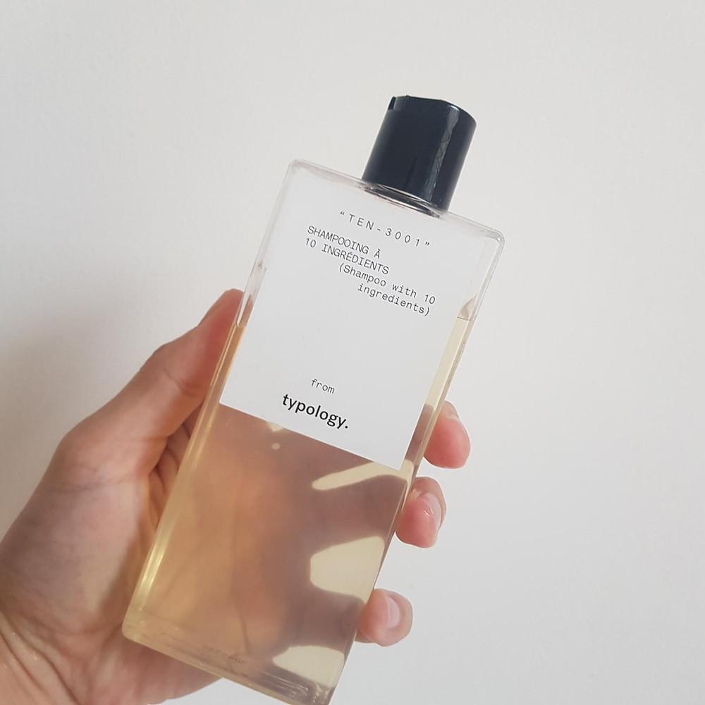 shampoing à 10 ingrédients de Typology avis