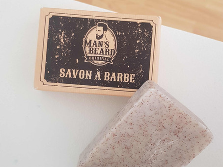 J'ai testé le savon à barbe exfoliant Man's Beard, mon avis
