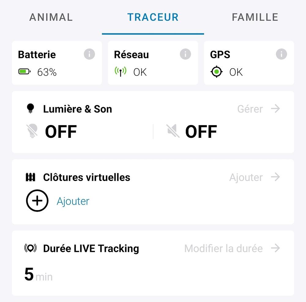 traceur GPS pour chien Tractive