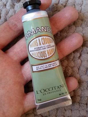 Crème Mains Amande l'Occitane, mon avis