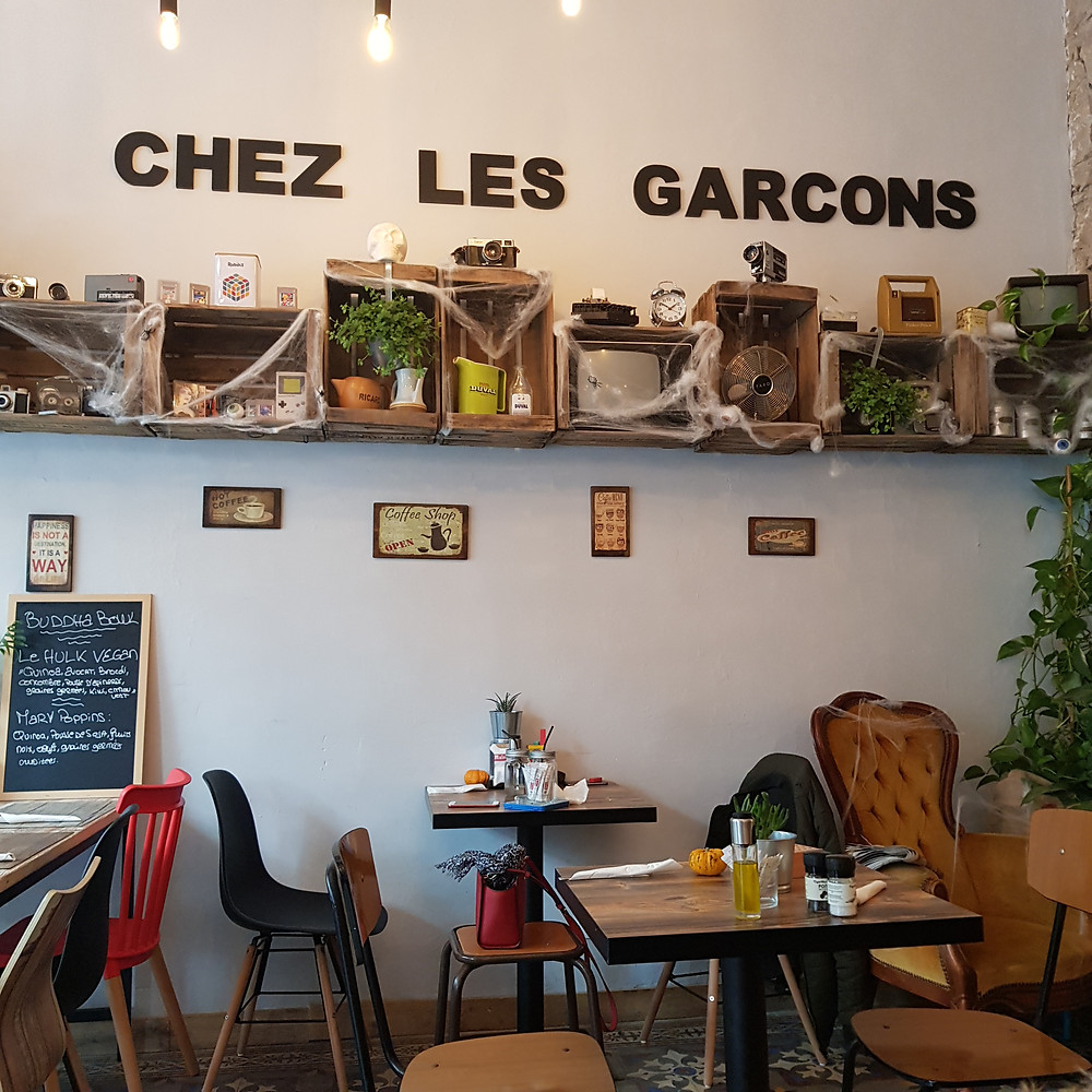 Chez les Garçons coffee shop à Nice