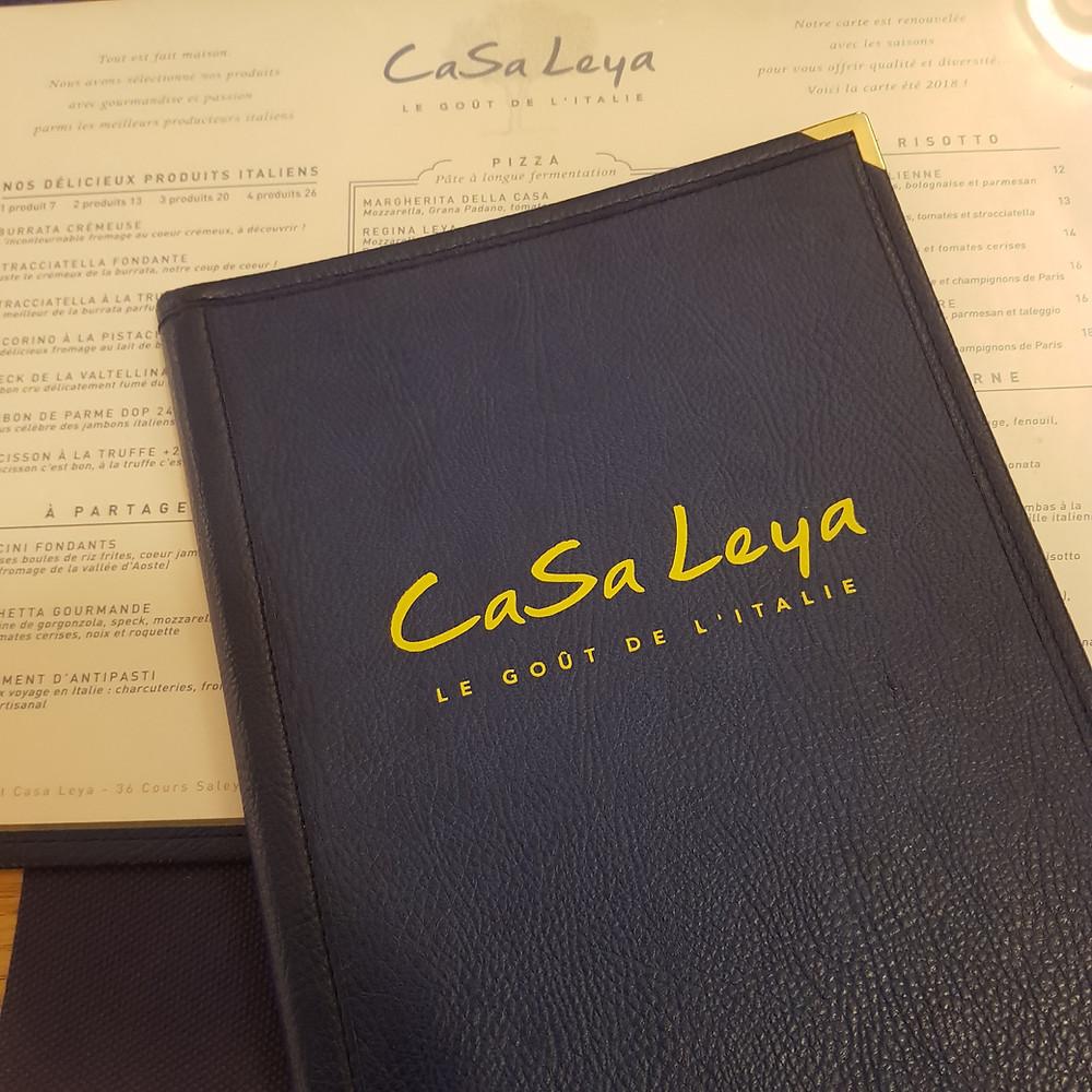Restaurant Casa Leya à Nice : mon avis