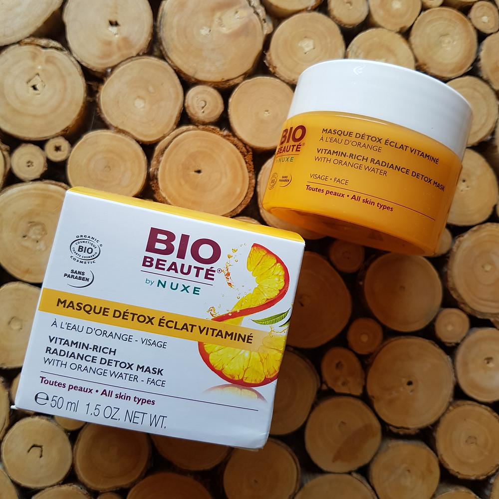 masque détox éclat vitaminé de Nuxe Bio Beauté