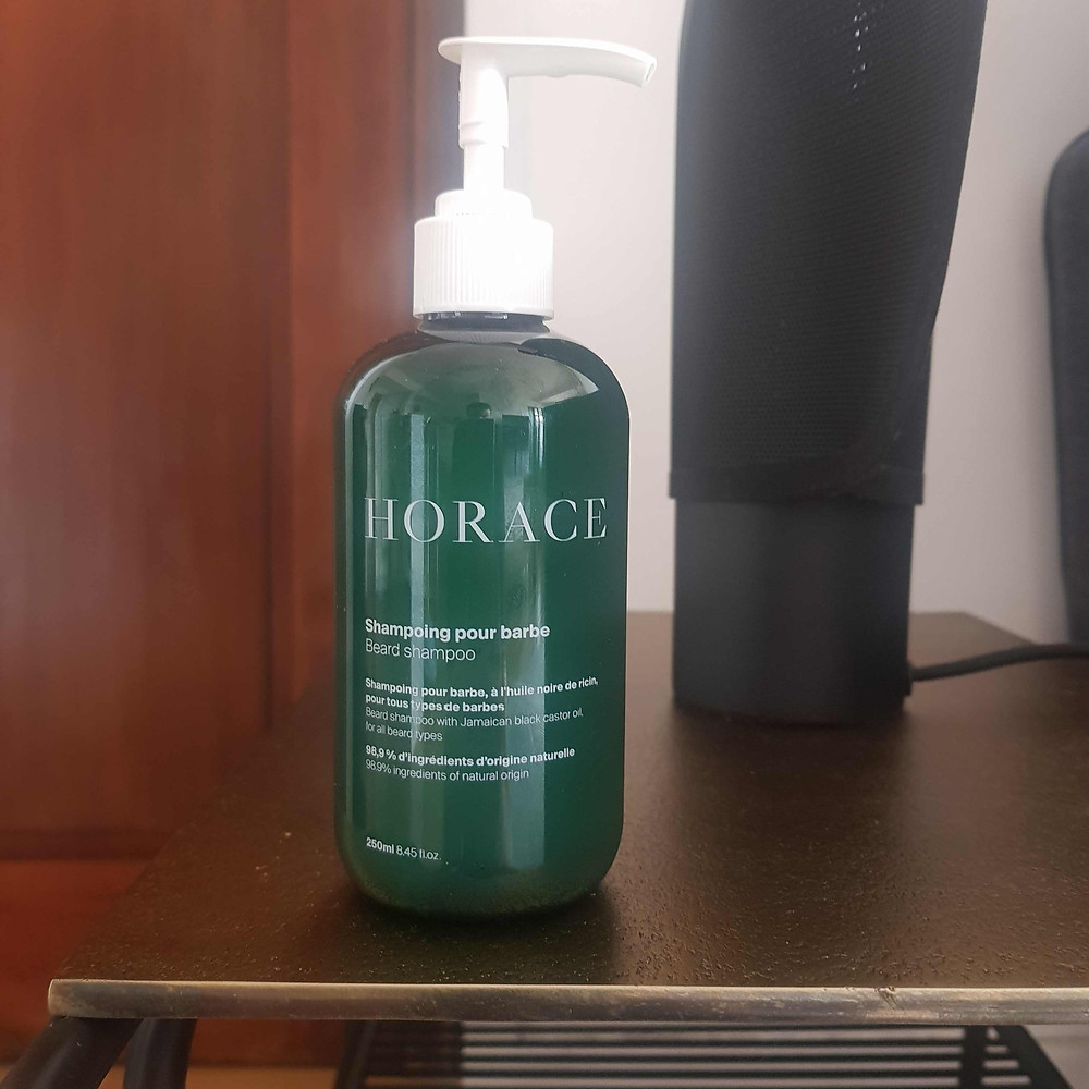 shampoing pour barbe Horace