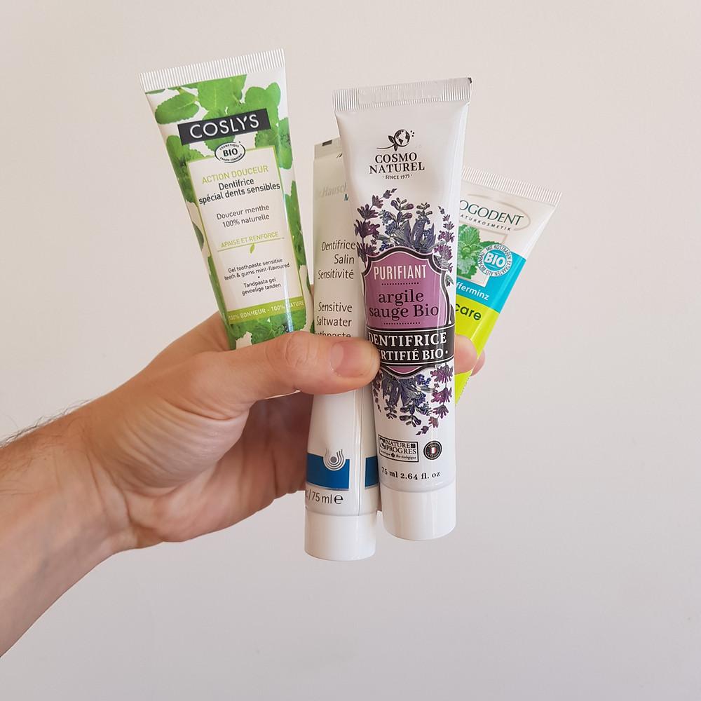 dentifrices naturels
