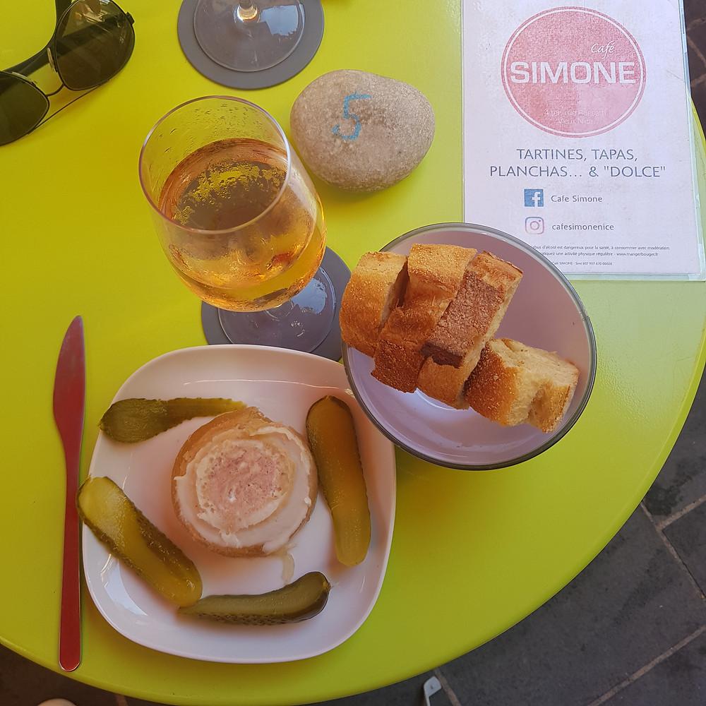 Café Simone Nice par Le Mâle Français