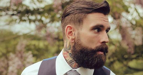 enlever noeud dans barbe