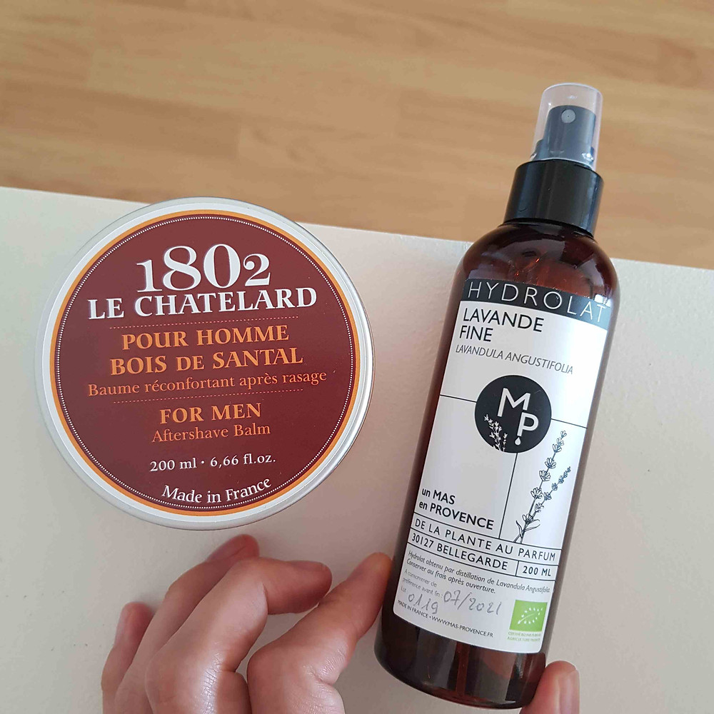 baume apres rasage peau sensible