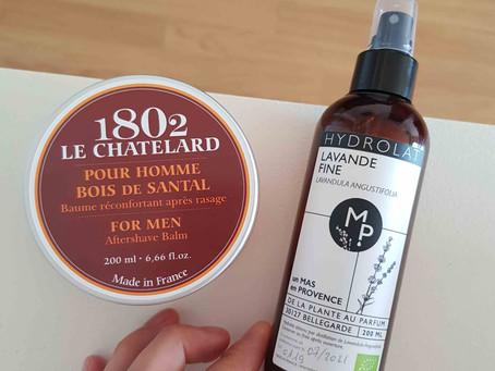 Baume après rasage peau sensible : ma sélection de produits