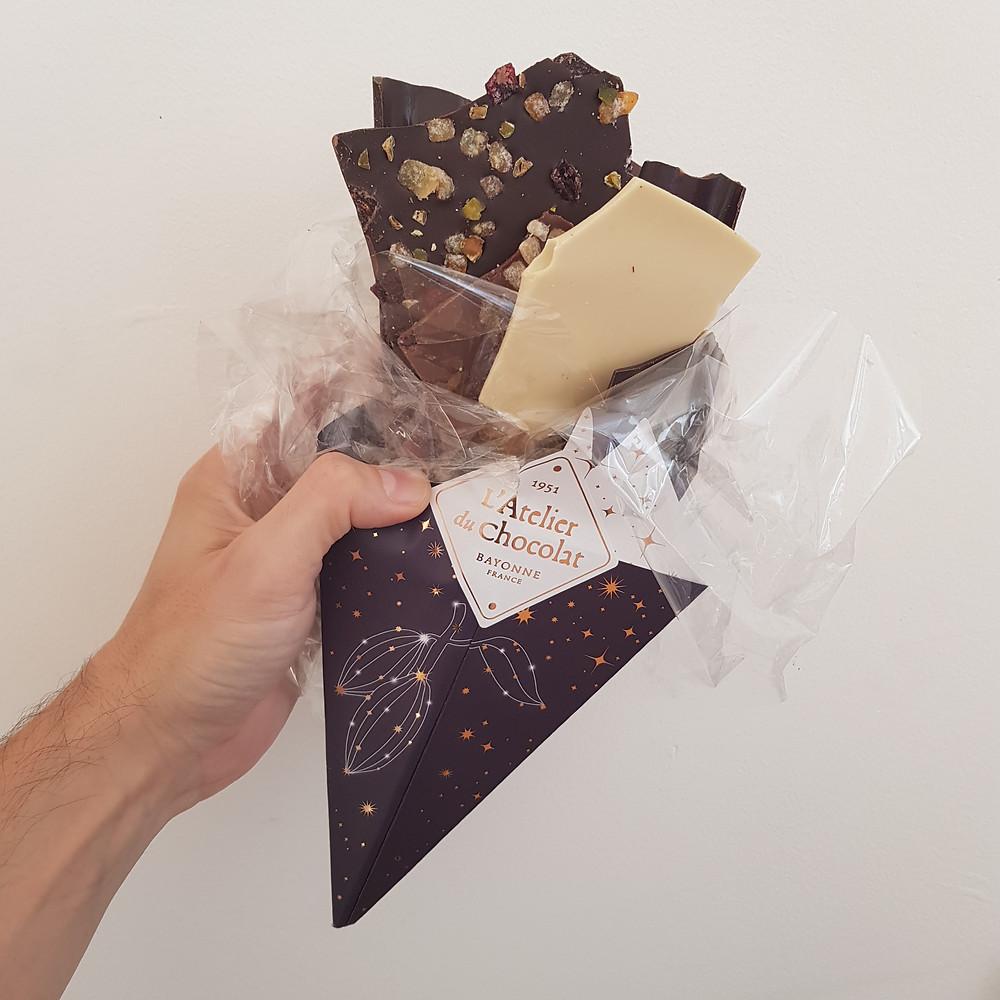 Bouquet de chocolat Noël Atelier du Chocolat