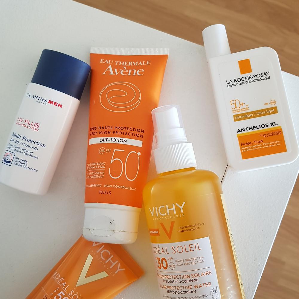 crème solaire mes produits préférés