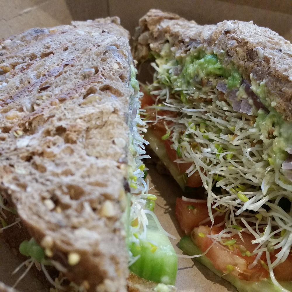 Sandwich Veggie Juice Lav