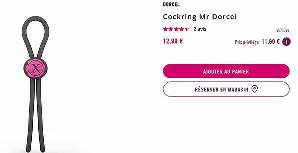 cockring réglable