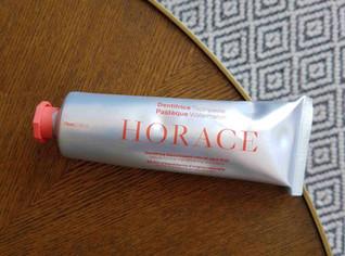 J'ai testé le dentifrice blanchissant à la pastèque d'Horace, mon avis
