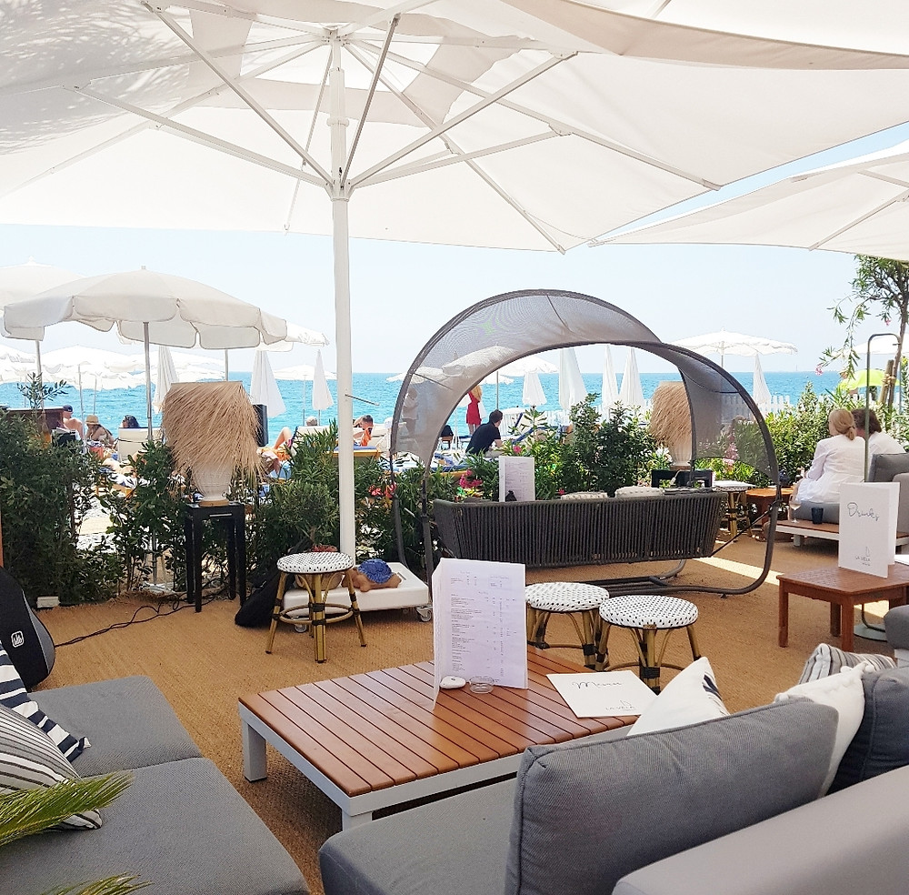 plage privée Nice La Vela