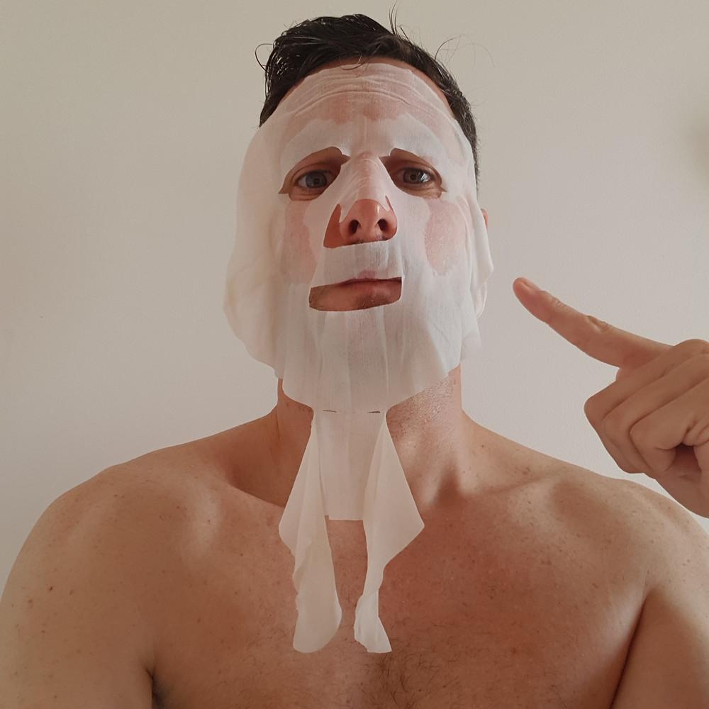 Masque facial Joliderm pour homme