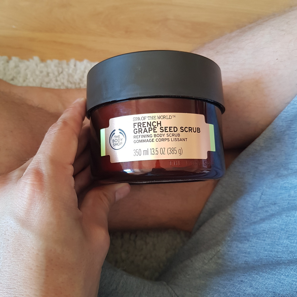 Gommage corps lissant aux Pépins de Raisin The Body Shop