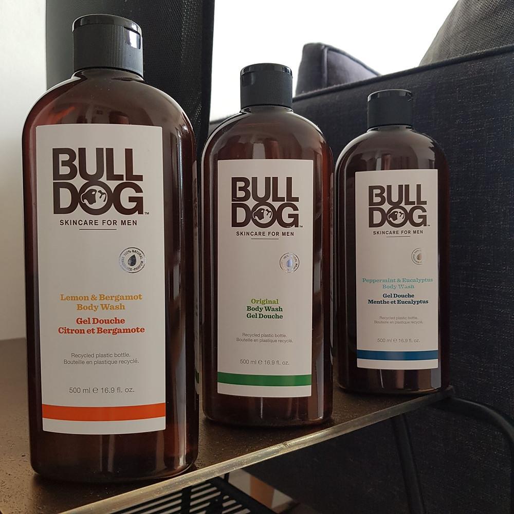 gel douche Bulldog