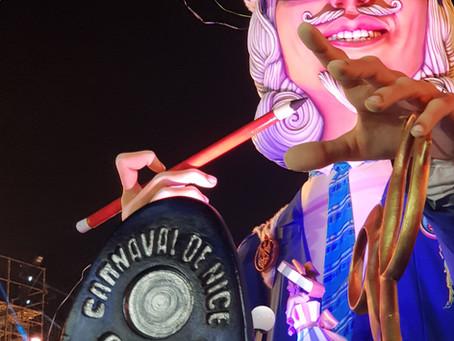 Carnaval de Nice, mes photos du corso nocturne illuminé