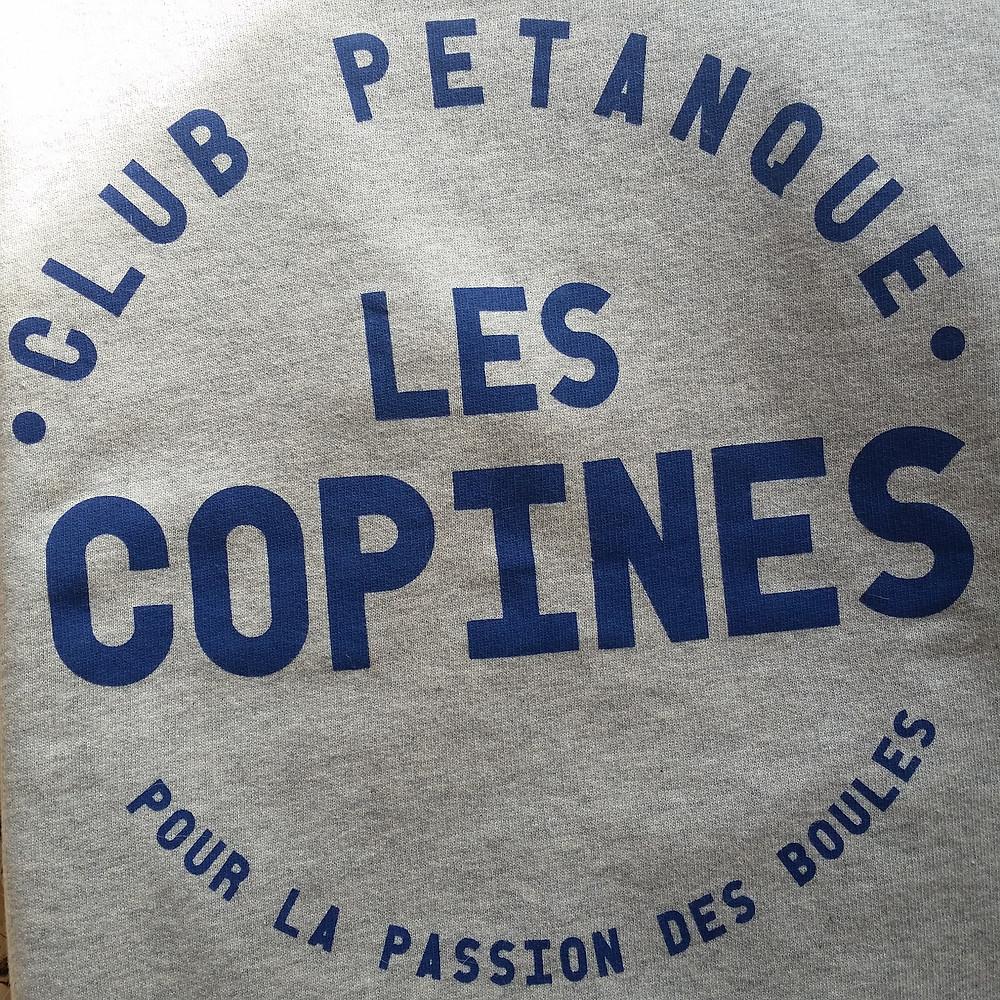 Sweat Les Copines Club Pétanque