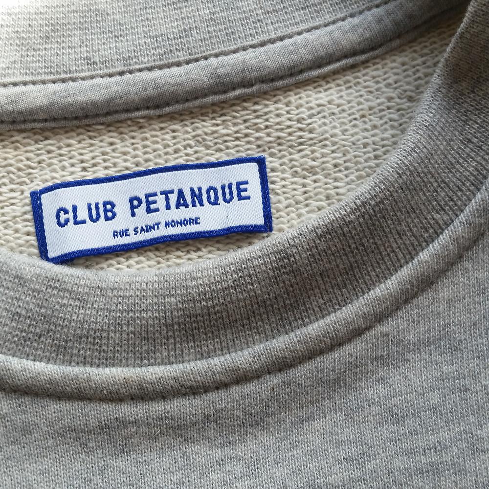 Club Pétanque sweat