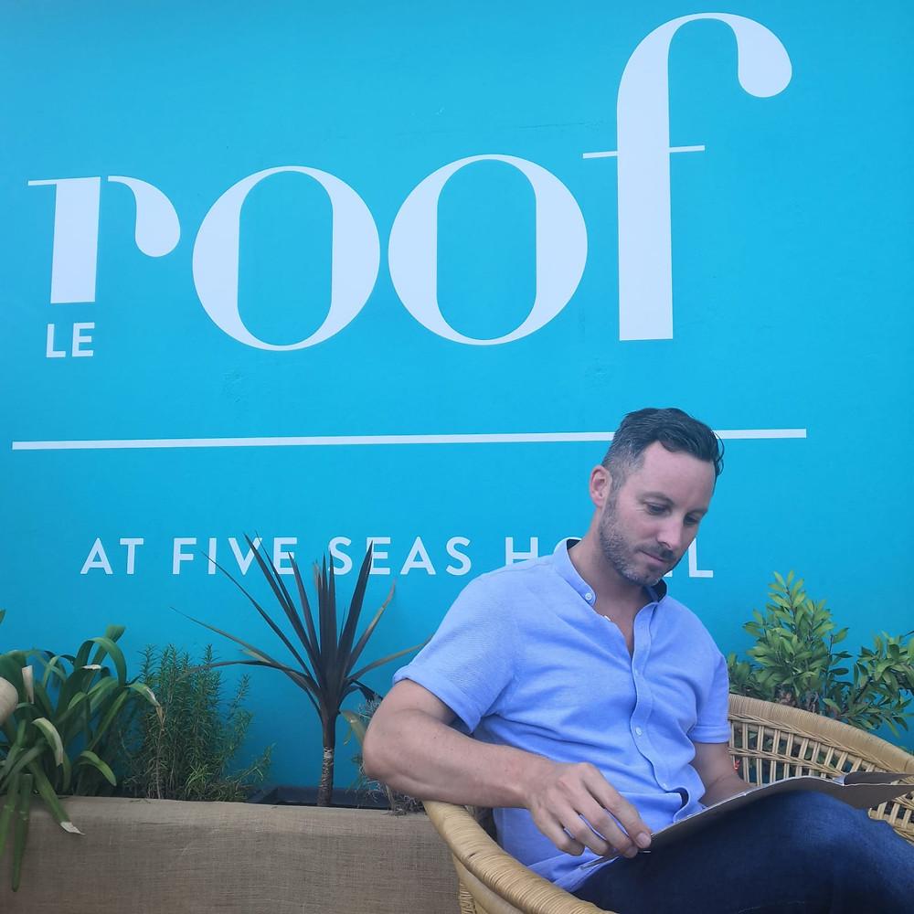 Le Roof Five Seas Hotel Cannes Le Mâle Français