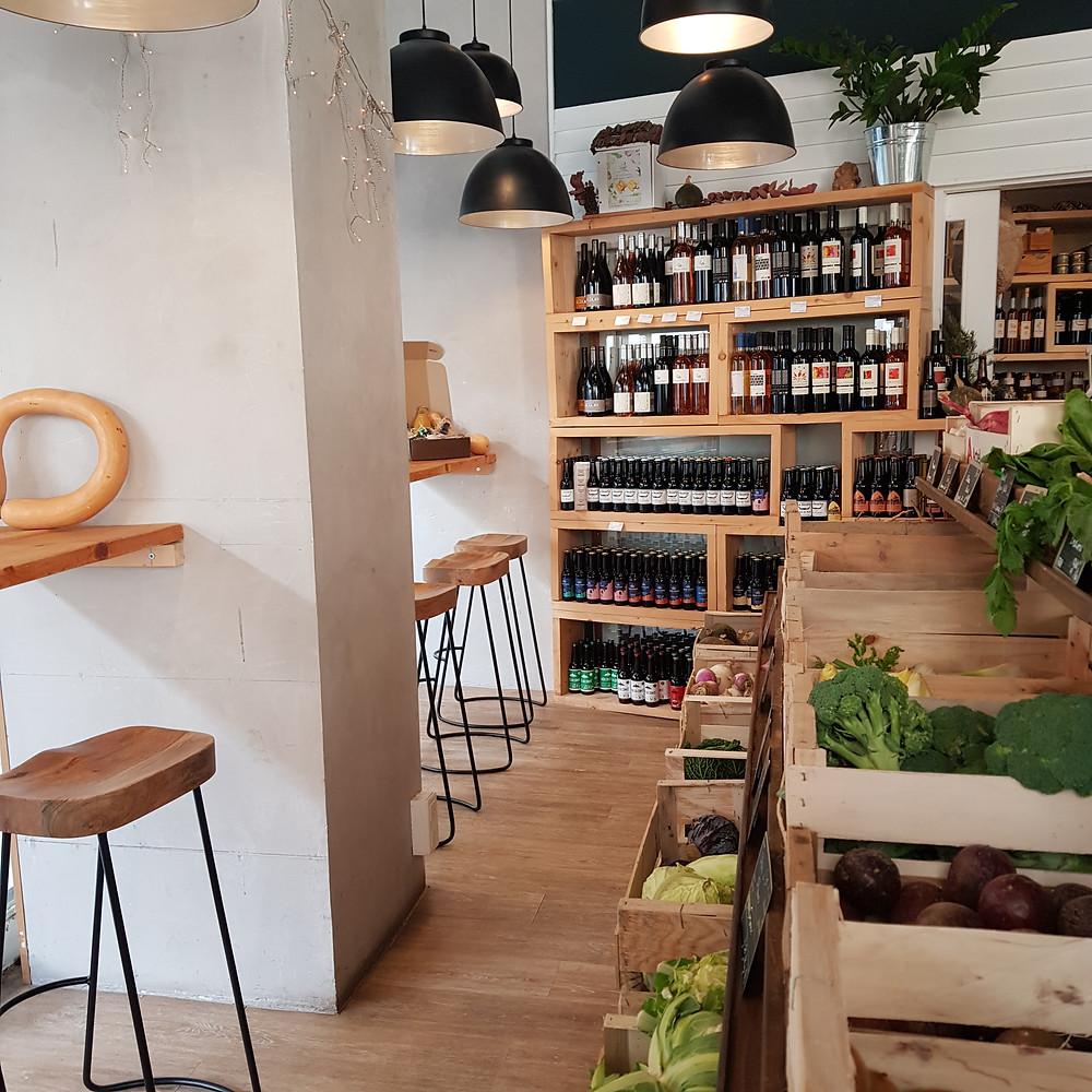 restaurant et épicerie 21 paysans à Nice