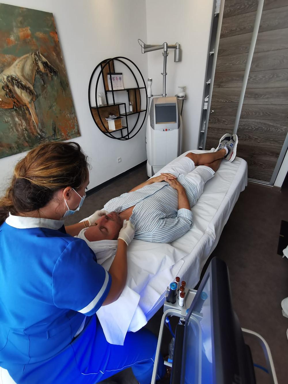 Soin HydraFacial a la Clinique Del Mar