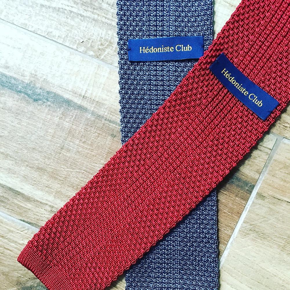 Les cravates par hédoniste club