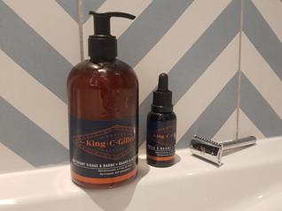 Les soins King C. Gillette contre la barbe qui démange