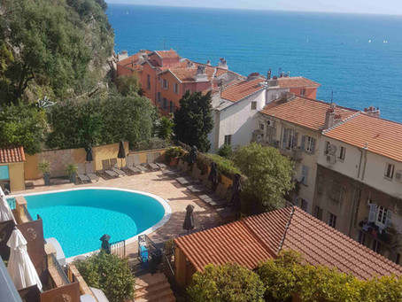 Découverte de l'hôtel La Pérouse à Nice, mon avis