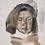 contemporary greek art portrait watercolour buy online