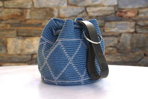 Top Handle Handmade Crochet Handbag