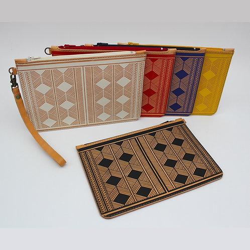 Small Geometric Leather Bag