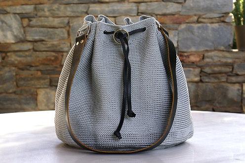 Large Handmade Crochet Shoulder Bag