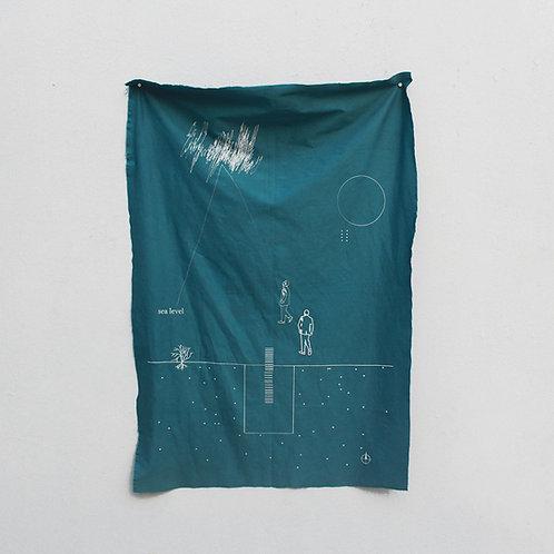 contemporary greek art Niki Gulema textile print