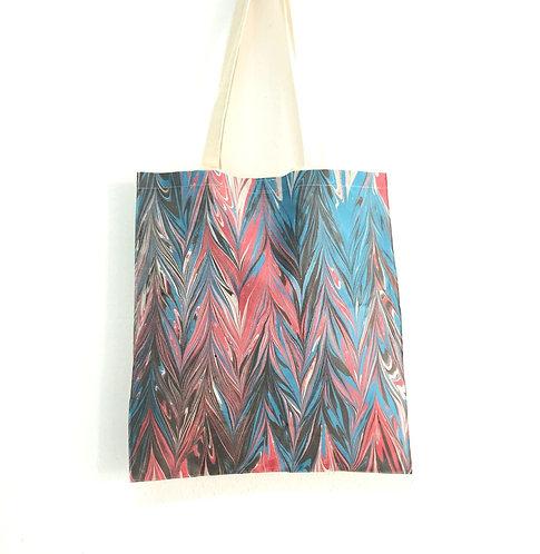 Kate ebru canvas tote bag handmade buy online