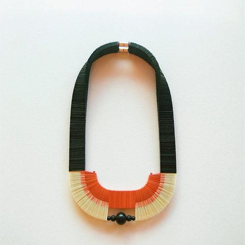 contemporary greek jewelry Misineza vinyl necklace