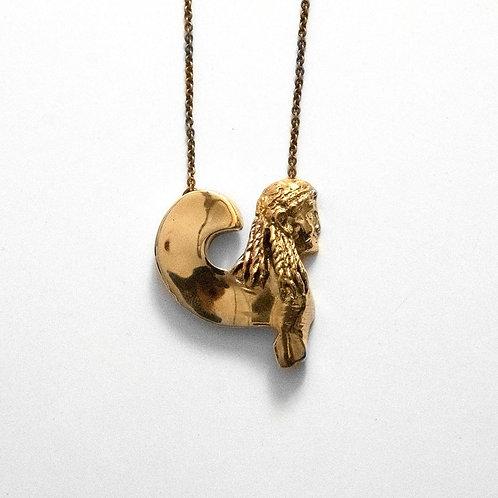 sphinx greek jewelry Myrogianni pendant necklace
