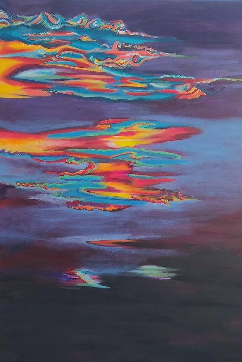 contemporary greek art oil on canvas Vea