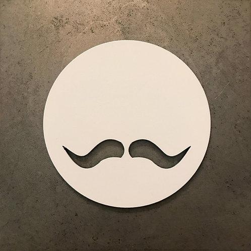 Ioli Livada coaster set moustache greek revolution tableware