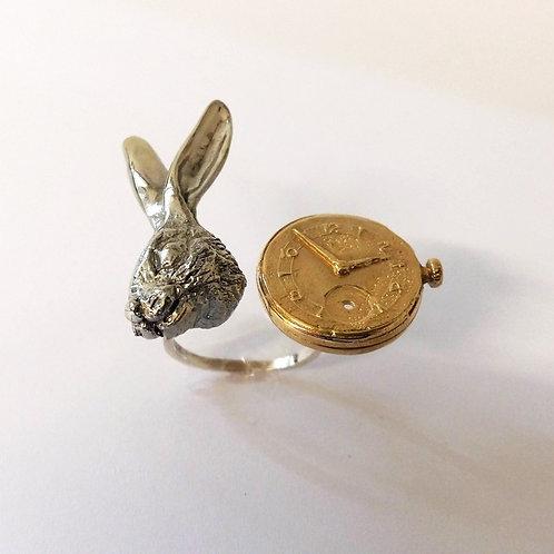 lewis carrol alice jewelry Myrogianni ring