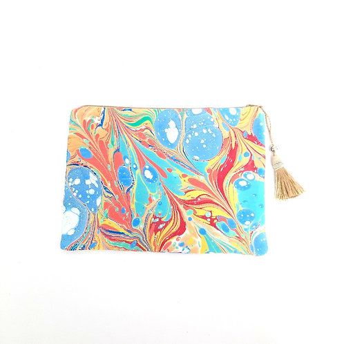 Kate ebru bag cotton satin clutch pouch buy online