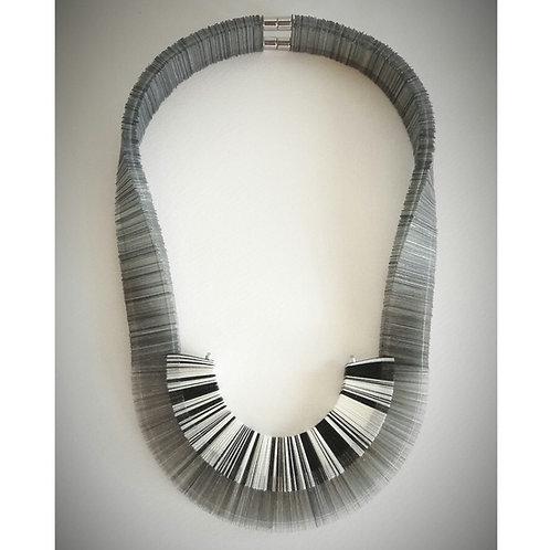 contemporary greek jewelry Misineza vinyl marble necklace